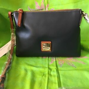 DOONEY AND BOURKE WEXFORD POUCHETTE/MIDNIGHT BLUE
